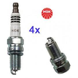 LPG-Bougie Set (4x) Fiat 1.2 1.4 16V | NGK Iridium