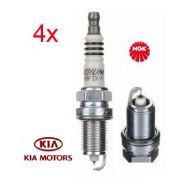 LPG-Bougie Set (4x) Kia Ceed Proceed 1.4 1.6 CVVT | NGK Iridium